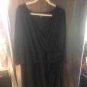 Chaps (Ralph Lauren) Black Polyester Dress (19)
